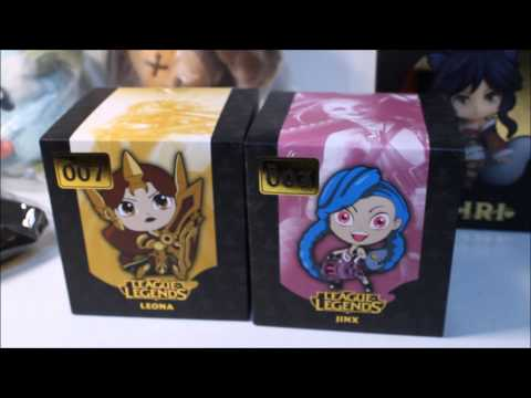 League of Legends Loot Haul! Official Merchandise + Ahri Nendoroid ...