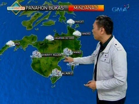 PAGASA: Magpapaulan ang namataang LPA sa Mindanao bukas