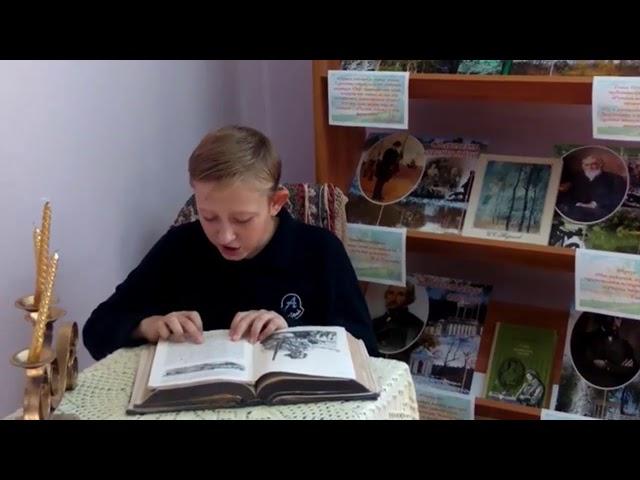Изображение предпросмотра прочтения – РусланГайдайчук читает произведение «Бежин луг» И.С.Тургенева