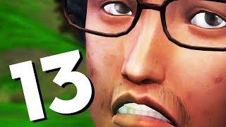 the Sims 4 Времена года #13 ЧТО ЗА ПРЫЩ?