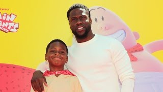 Kevin Hart Brings Look-Alike 9-Year-Old Son to