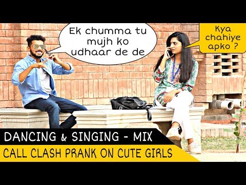 Epic - Call Clash Prank on Girls - Dancing & Singing Mix - Part 4 | FCC | Prank In Pakistan