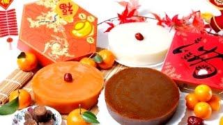 椰汁年糕 How To Make Coconut Glutinous Rice Cake / Steamed Sticky Rice Cake
