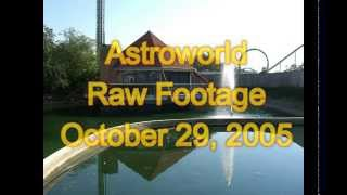 Astroworld Rare Raw Footage October 29, 2005