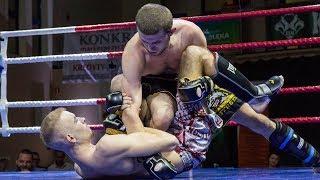 Damian Grylas (MMA Team Ostróda) - Cezary Sarnowski (KSW Cross Fight Gym)