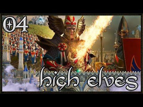 Siege For Ulthuan! Total War: Warhammer 2 Gameplay - High Elf Campaign #4