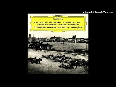 Maximilian Steinberg (1883-1946) : Symphony No. 1 in D major Op. 3 (1905-06)