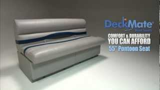 "Deckmate 55"" Pontoon Boat Seats"