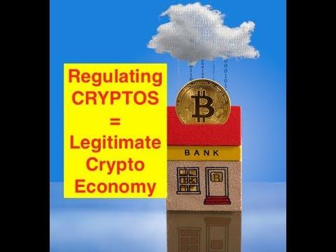 Crypto Regulation = Legitimate Crypto System! (Bix Weir)