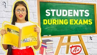 Students During Exams | SAMREEN ALI