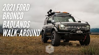 2021 Ford Bronco Badlands 2-Door Walk-Around | Bronco Nation