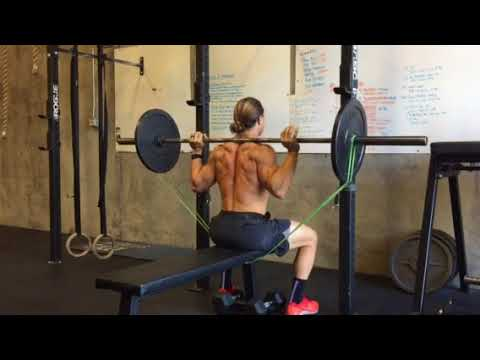 Banded Seated Behind The Neck Press