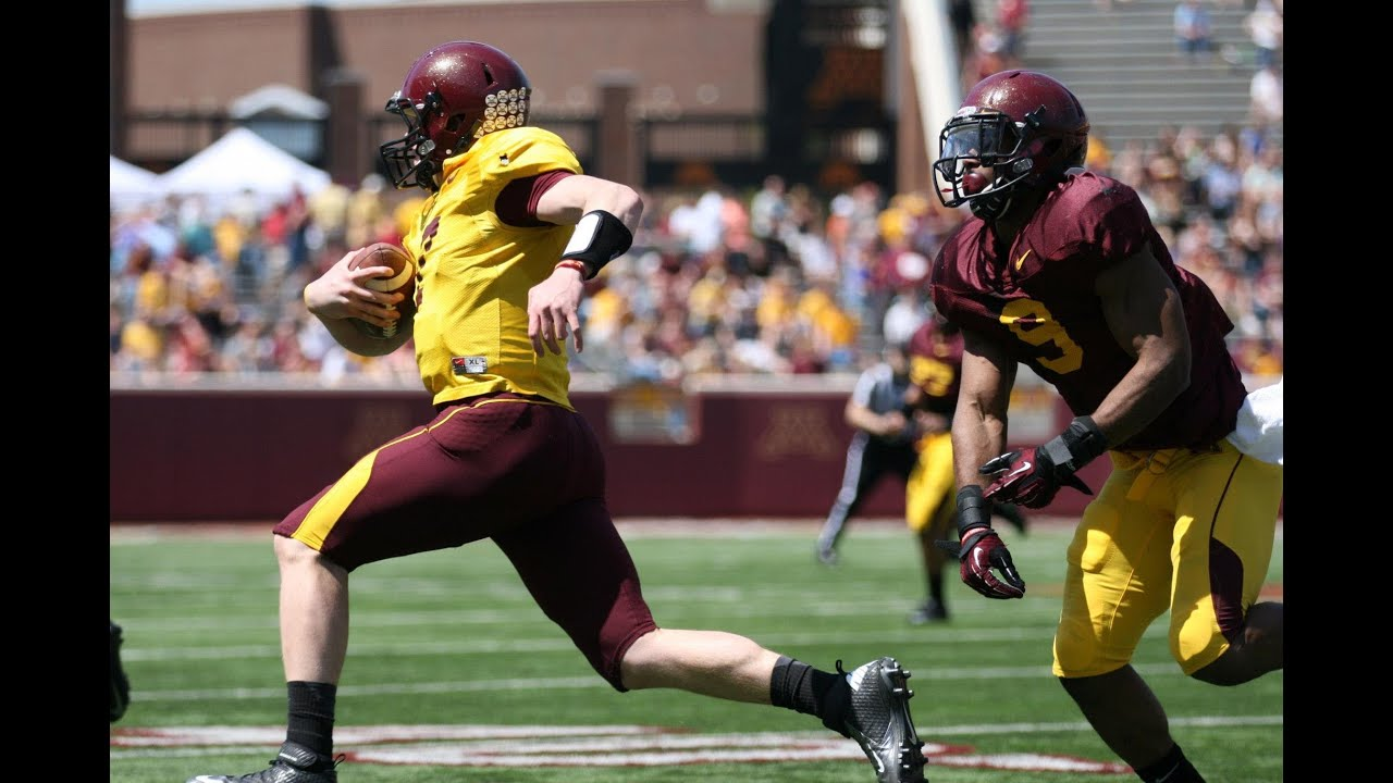 2013 Gophers Spring Football Game Highlights - YouTube