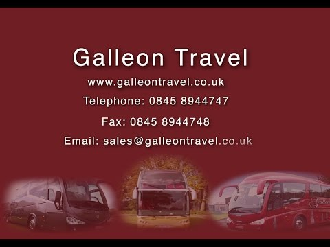 Galleon Travel | Luxury Coach Hire | Harlow, Essex