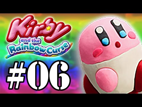Let's Play: Kirby and The Rainbow Curse - Parte 6 - Ataque do Kraken!