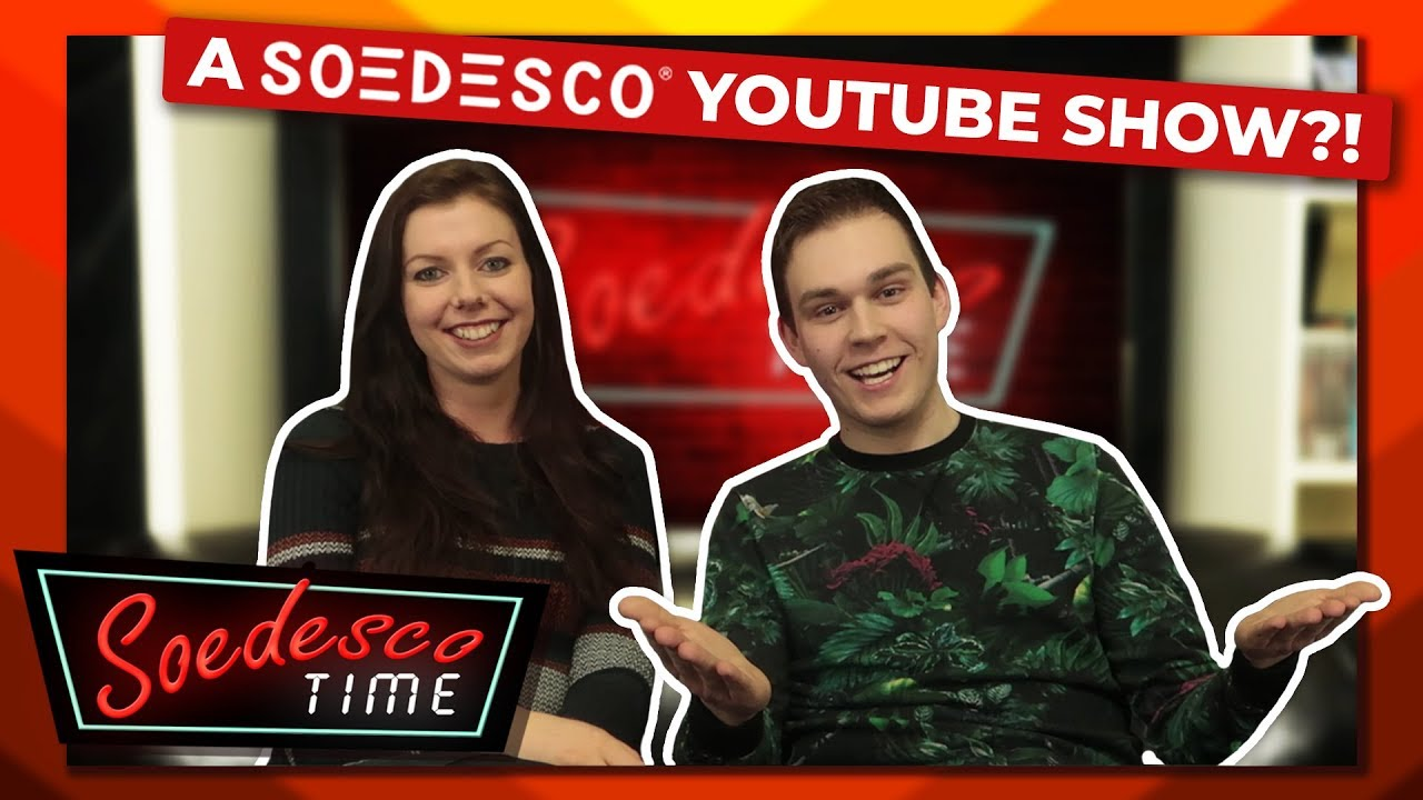 New YouTube show by publisher SOEDESCO!