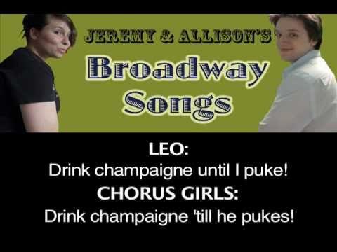 """""""I Wanna Be A Producer"""" - Broadway By Allison, Jeremy, & Friends"""