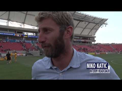 Post Game Interview Rob Vincent, Jose Angulo, Niko Katic plus game footage. 7/25/14