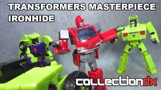 Transformers Masterpiece MP-27 Ironhide Review- CollectionDX