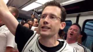 Repeat youtube video Miami Heat Crowd screams at Spurs fan on the MetroRail