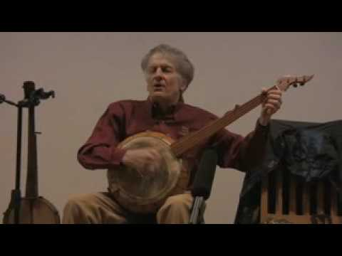 Mike Seeger on Gourd Banjo