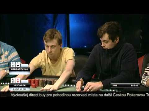 Česká Pokerová Tour 2012, 11. listopadu, LIVE STREAM CardCasino.com