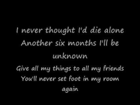 Blink 182 - Adam's Song Lyrics