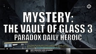 "Destiny - New Dead Ghost ""Mystery: The Vault of Glass 3"""