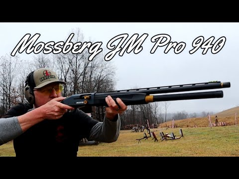 Mossberg 940 JM PRO Unboxing And Testing