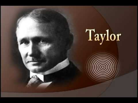 fw taylor Frederick winslow taylor was born on march 20, 1856, in philadelphia, pennsylvania while employed at midvale steel co, taylor systemized the shop management to reduce costs and increase production.