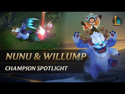 Nunu & Willump Champion Spotlight | Gameplay - League of Legends