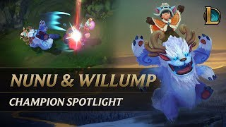 Nunu & Willump Champion Spotlight | Gameplay - League of Legends