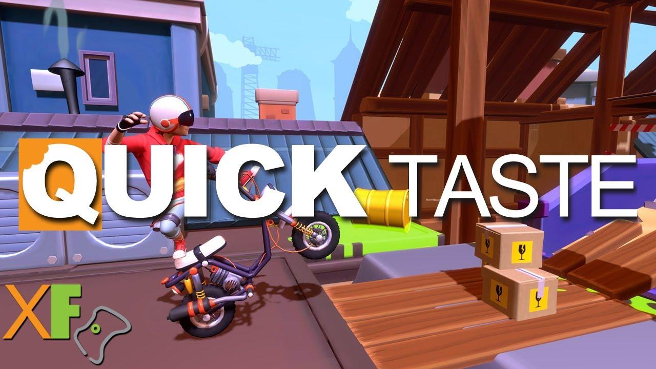 Urban Trial Tricky Quick Taste