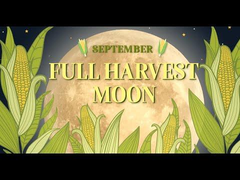 September's Full Harvest Moon
