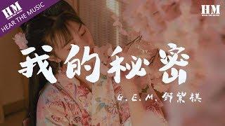 g-e-m-鄧紫棋-我的秘密『我们之间的距离每天一点点靠近』【動態歌詞lyrics】