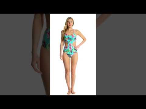 PilyQ Swimwear Paradise Phoenix One Piece Swimsuit | SwimOutlet.com