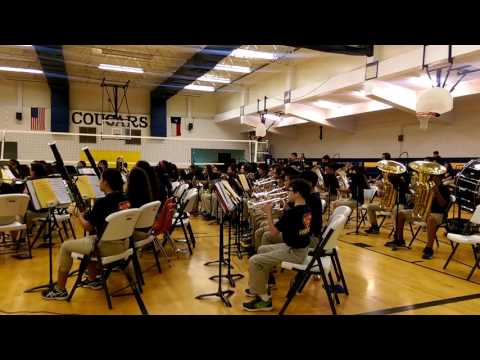Los Cuates Middle School Honor Band In the Hall of the Mountain King