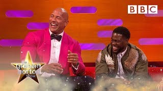 Dwayne 'The Rock' Johnson shreds Kevin Hart! | The Graham Norton Show - BBC