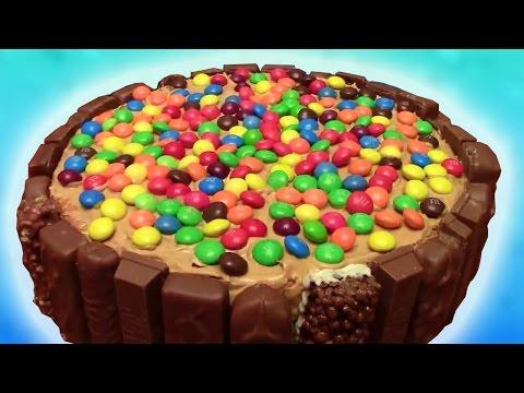 Торт с KitKat и M&Ms [sweet & flour]