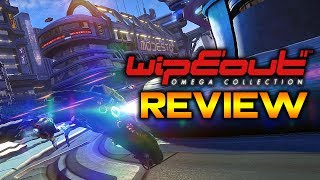 WipEout Omega Collection Review – A PlayStation Classic Returns! | PS4 Pro Gameplay