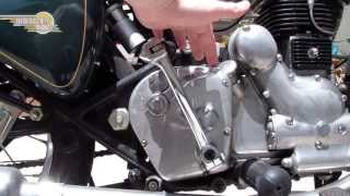 How To Use The Neutral Finder On A Royal Enfield Bullet Motorcycle