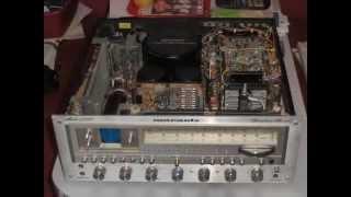 Vintage Stereo Receivers.Co jest w środku.Amplituner
