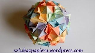 Origami Cherry Blossom Ball