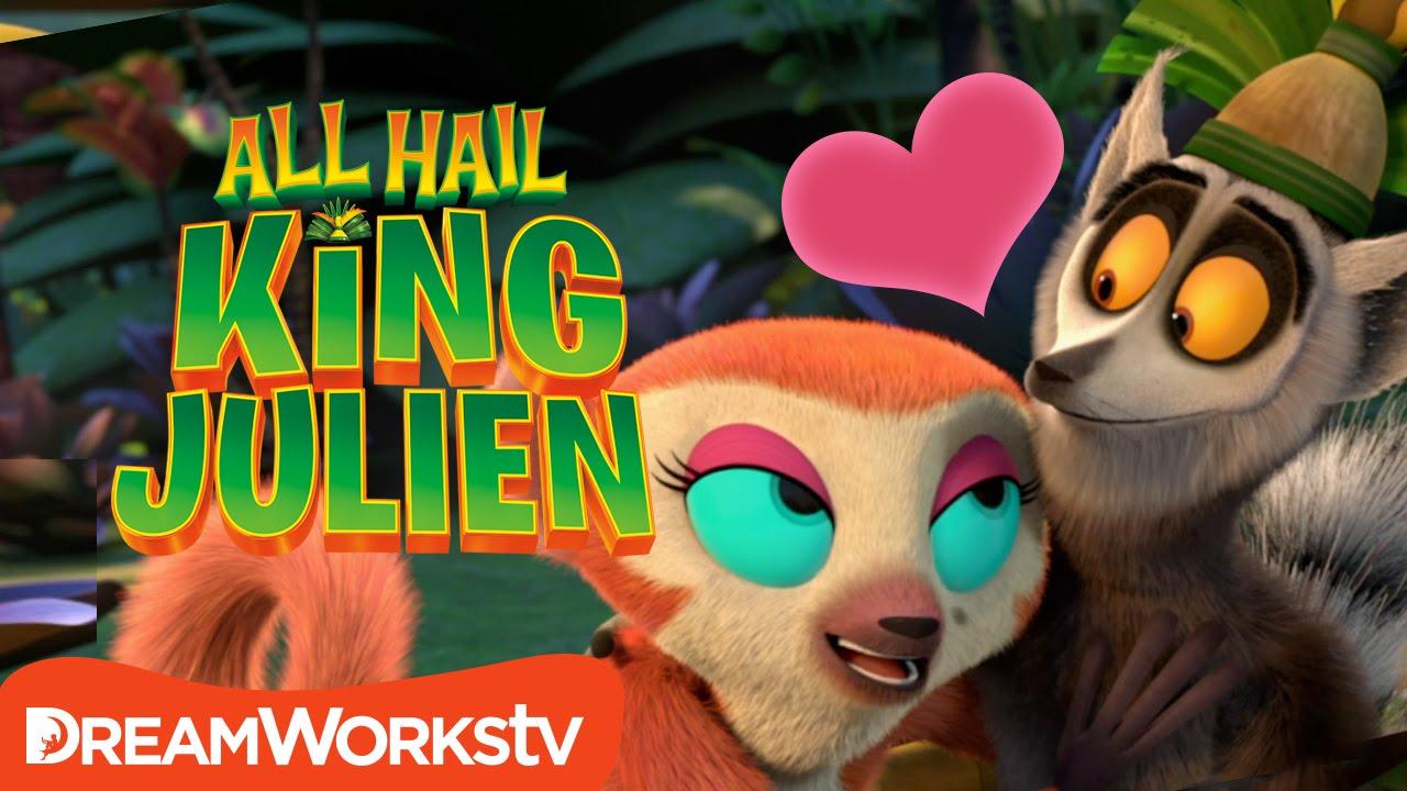 Lemur Lovin All Hail King Julien Youtube