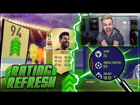 FIFA 18: RATING REFRESH PACK OPENING + Weekend League 🔥🔥