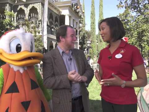 Interview with Disneyland Ambassador Sachi White and Donald Duck