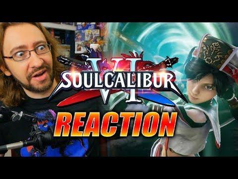 MAX REACTS: Talim Reveal Trailer - Soul Calibur VI