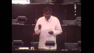 MP Nihal Galappaththi on Poaching by Indian Fishermen in Sri Lankan Waters.