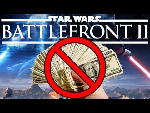 STAR WARS Battlefront 2 Removed Micro transactions No more Pay2Win... But For long?