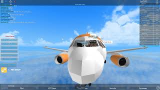 Roblox EasyJet A320 Flight